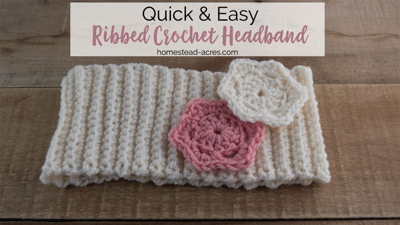 Outstanding Crochet Headband Pattern Quick And Easy Ribbed Crochet Download Free Architecture Designs Terchretrmadebymaigaardcom