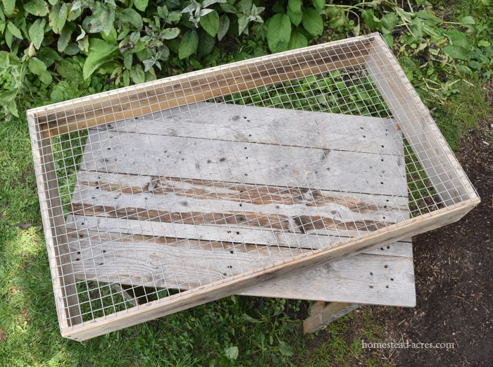 Easy DIY Compost Sifter Plans And