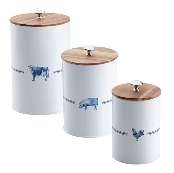The Best Farmhouse Canister Sets For Your Kitchen ...