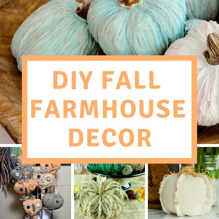DIY Farmhouse Fall Decor Ideas