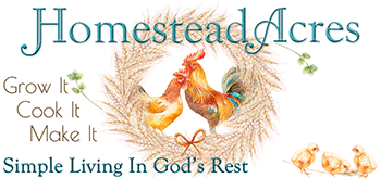 Homestead Acres Blog