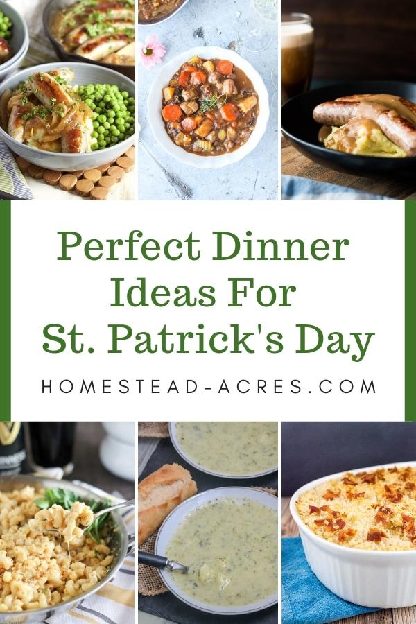 23 Easy St  Patrick's Day Dinner Ideas - Homestead Acres