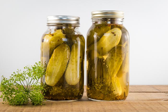 Easy homemade dill pickle recipe