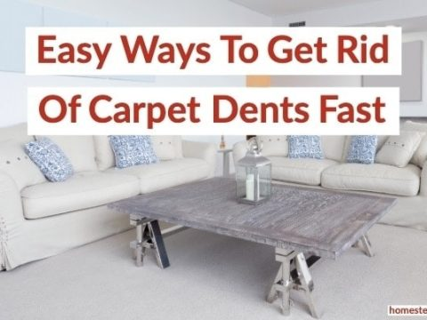 How To Get Dents Out Of Carpets And Prevent Them Homestead Acres