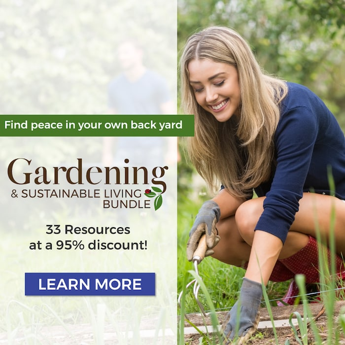 Gardening and Sustainable Living Bundle Sale
